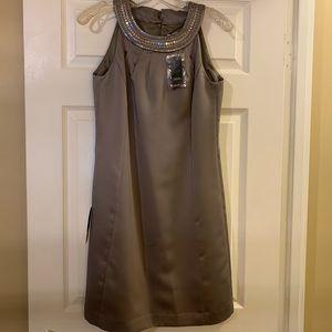 NWT Ann Taylor Loft Silver Dress, Size 2